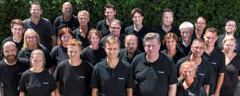 Mitarbeiter der Druckerei Rapp-Druck GmbH