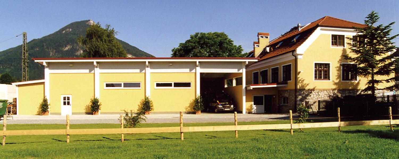 Aufnahme des Firmengeländes der Druckerei Rapp-Druck GmbH im Jahre 2001