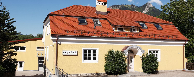 Verwaltungsgebäude der Druckerei Rapp-Druck GmbH (altes Schulhaus)