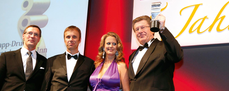 Firma Rapp-Druck GmbH Gewinn des Druck und Medien Awards in 2009