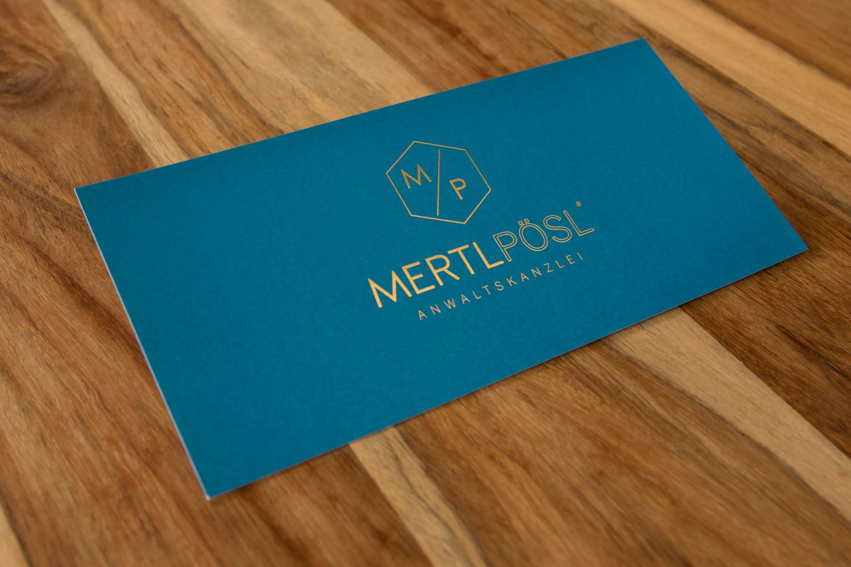 Druckerei Rapp-Druck Compliment Card Heißfolienpraegung gold