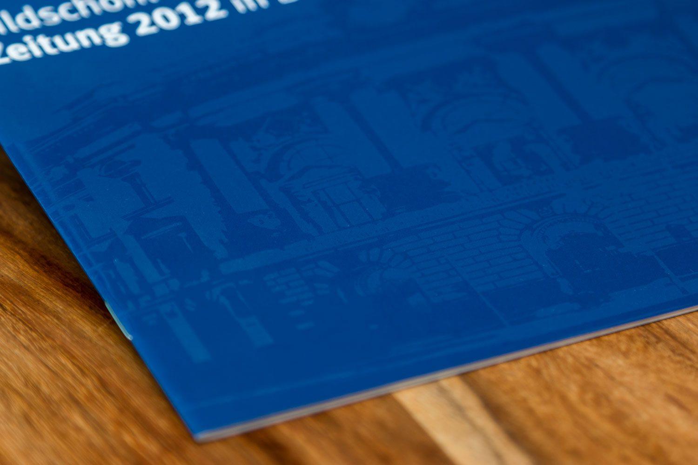 Druckerei Rapp-Druck Imagebroschuere soft touch cellophanierung uv-lackierung