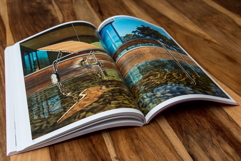 Druckerei Rapp-Druck Produktkatalog 4/4-farbig Euroskala auf LuxoArt Samt Papier