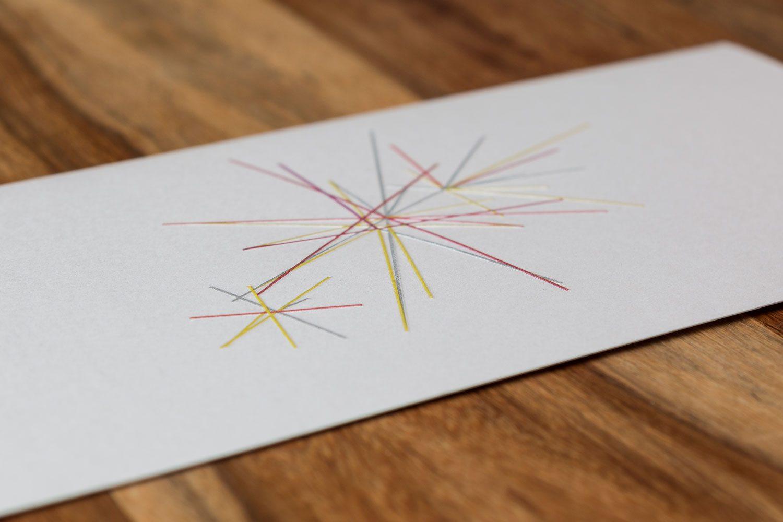 Druckerei Rapp-Druck Weihnachtskarte gepraegt