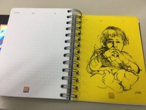 druckerei-rapp-druck-imagebroschuere-30jahre-notes-ideas-zeichnung-rosenheim-muenchen