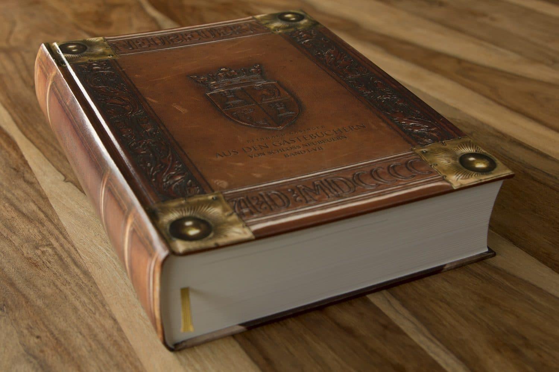 4/0-farbig Euroskala bedruckter Überzug eines Buches mit Hardcover