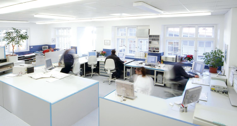 Druckvorstufe der Druckerei Rapp-Druck GmbH