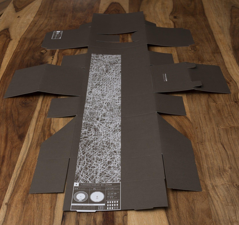 formgestanzte Schachtel für Gläser, produziert von der Druckerei Rapp-Druck