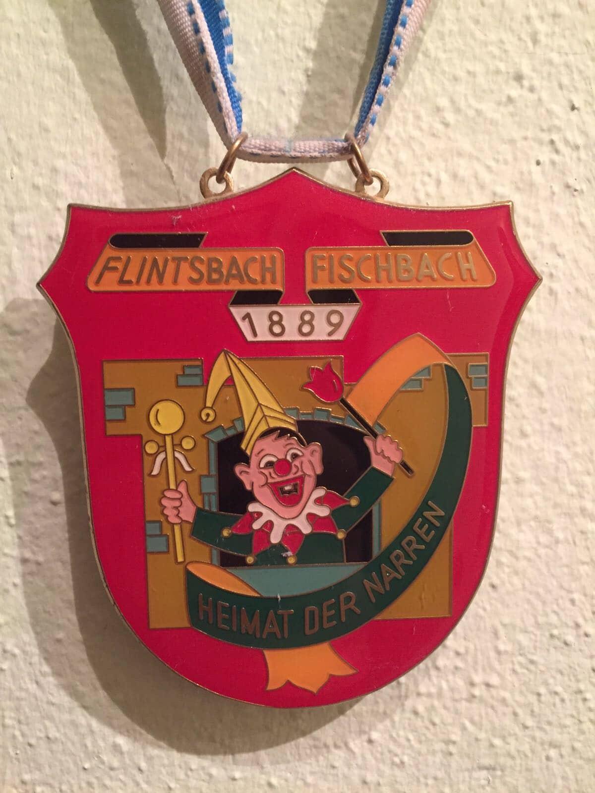 Faschingsorden für die Druckerei Rapp-Druck der Flintsbacher Faschingsgesellschaft