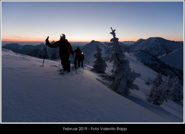 Februar Bild des Rapp-Druck Fotokalender