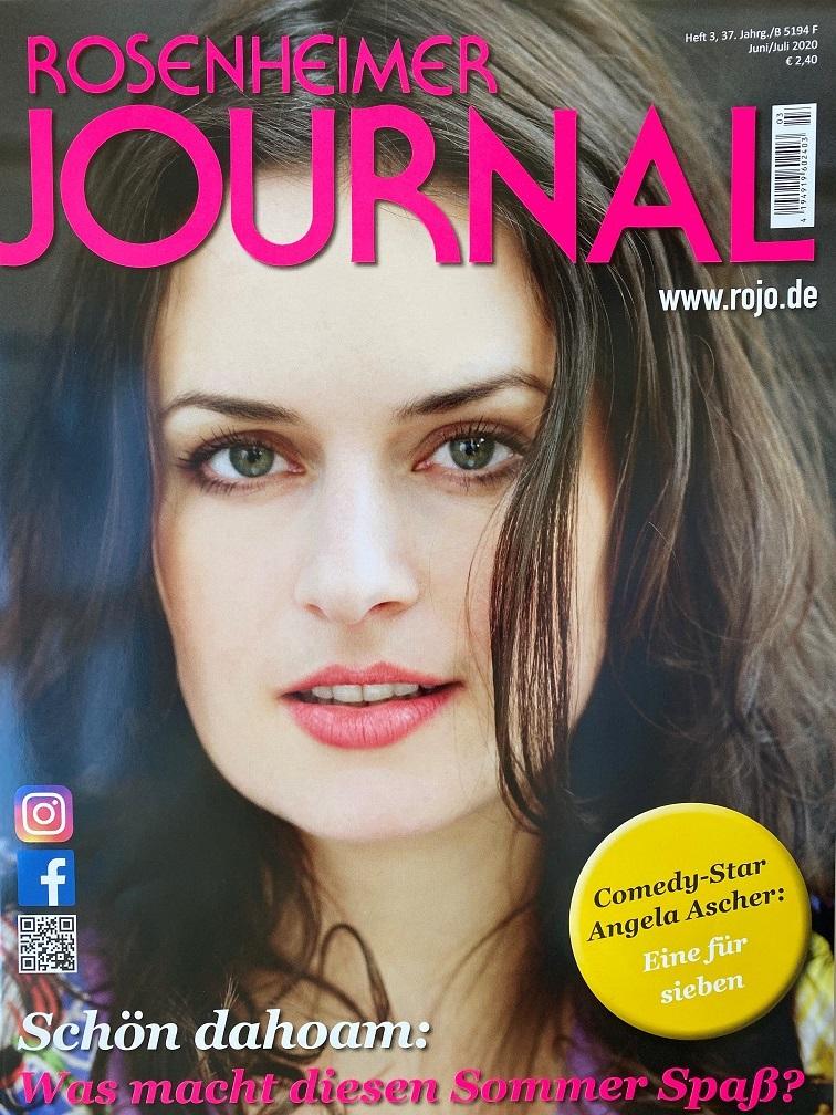 Ausgabe des Rosenheimer Journal Juni-Juli 2020 Druckerei Rapp-Druck GmbH